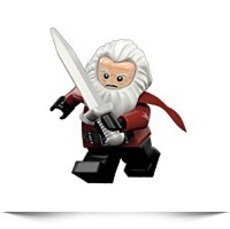 Hobbit Balin The Dwarf Minifigure