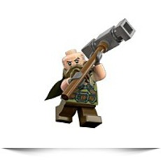 Hobbit Dwalin The Dwarf Minifigure