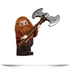 Hobbit Gloin The Dwarf Minifigure