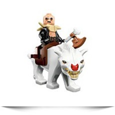 Hobbit Yazneg With Warg Minifigure
