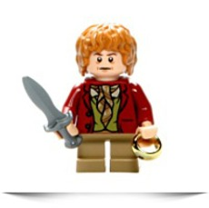 Lego 79004 The Hobbit Barrel Escape Bilbo