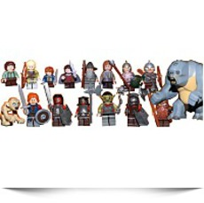 Buy Lord Of The Rings Mini Figure Set