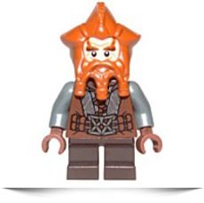 New The Hobbit Nori The Dwarf Small Minifigure