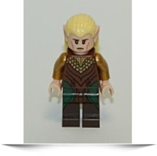 New The Hobbit las Greenleaf Elf 2 Minifigure
