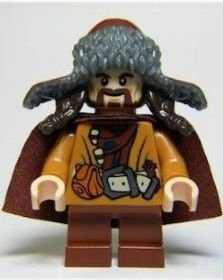 New Lego The Hobbit Bofur The Dwarf Small Minifigure Loose