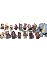Lord Of The Rings Mini Figure Set